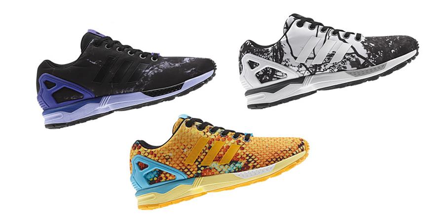 Adidas Originals ZX Flux Print Pack Août 2014 Le Site de la Sneaker