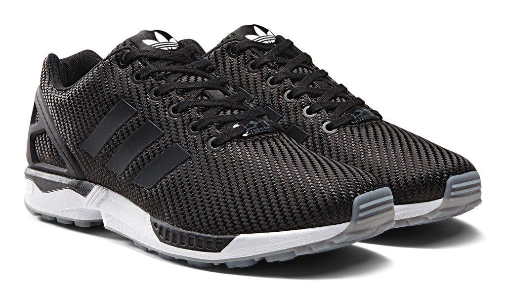 adidas zx flux black black