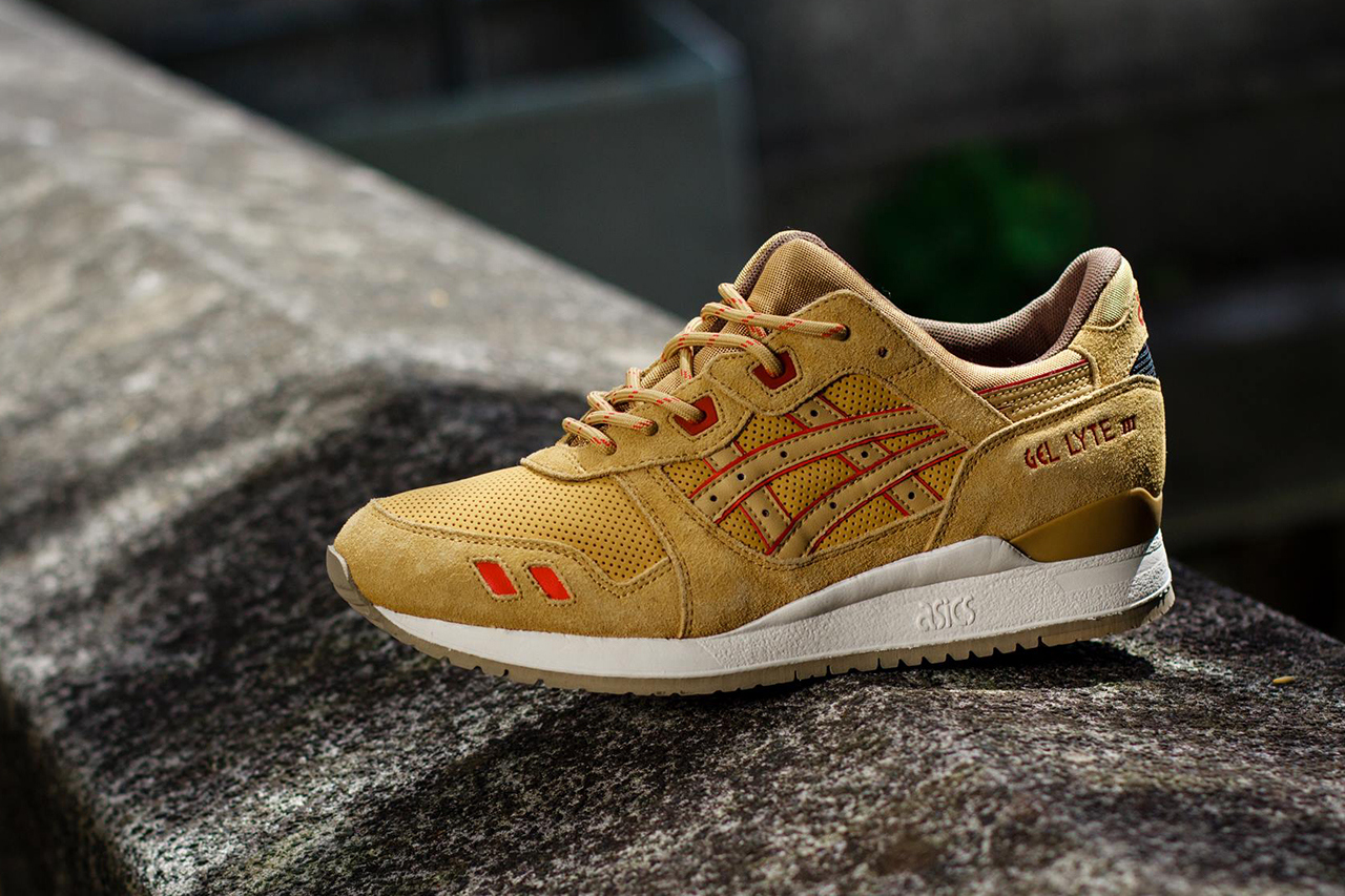 asics gel lyte iii 3 honey mustard 1