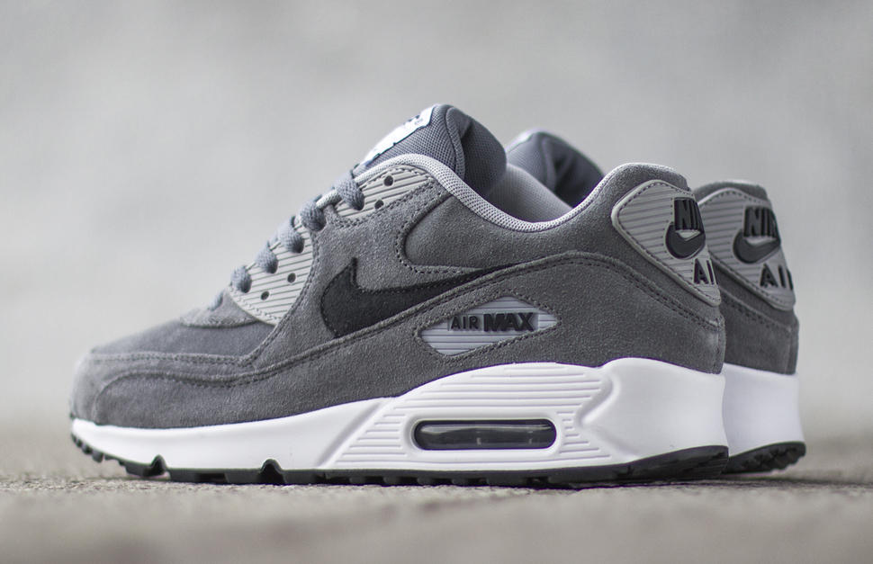 mens nike air max 90 grey