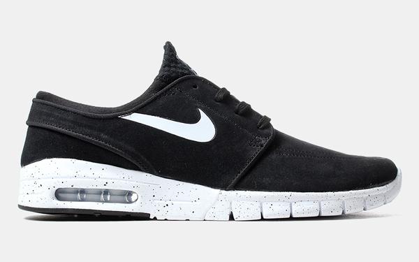 Nike Sb Stefan Janoski Chaussures Noir Bordeaux