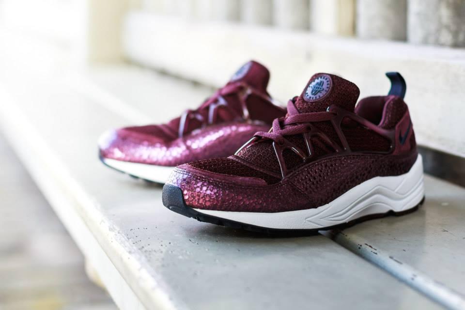 Nike Air Huarache Femme Bordeaux