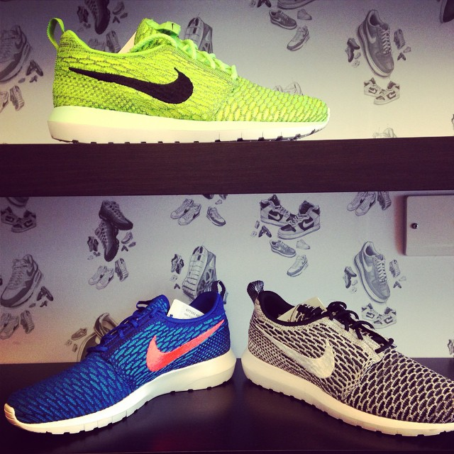 Nike Flyknit Roshe Run Printemps 2015 Photos