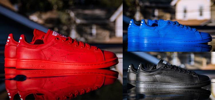 Stan Smith Rouge Pharell