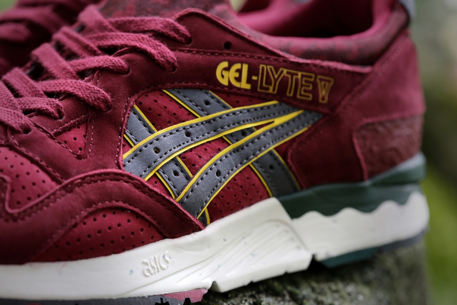 asics gel lyte 11 bordeaux