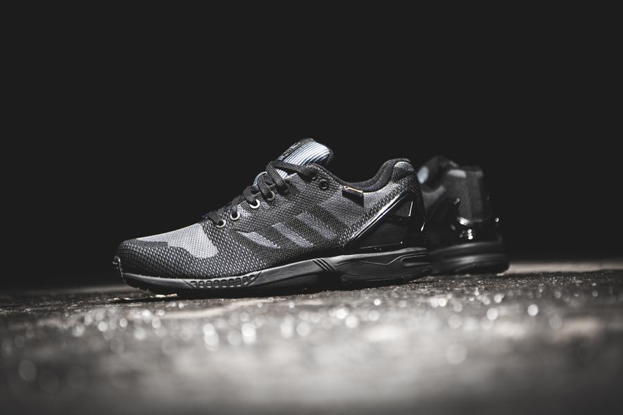 Adidas Zx Flux Triple Black Weave