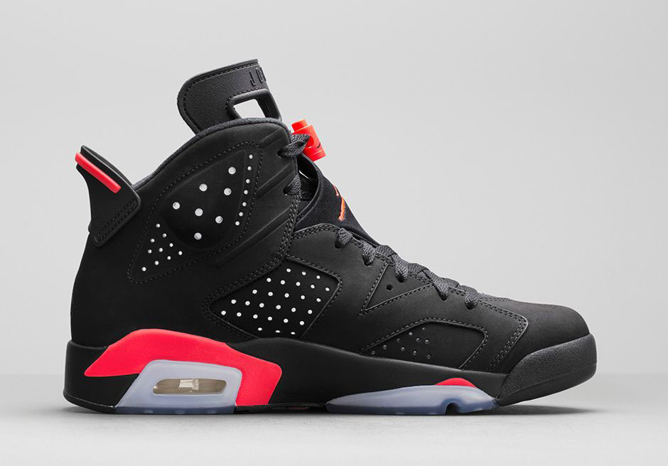 air jordan 6 black infrared date de sortie release date. Black Bedroom Furniture Sets. Home Design Ideas