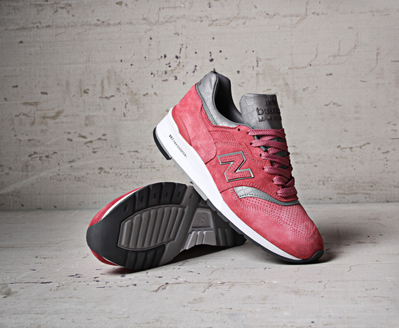 new balance 997 rose femme