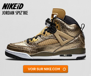 Air Jordan Spizike iD Liquid Gold