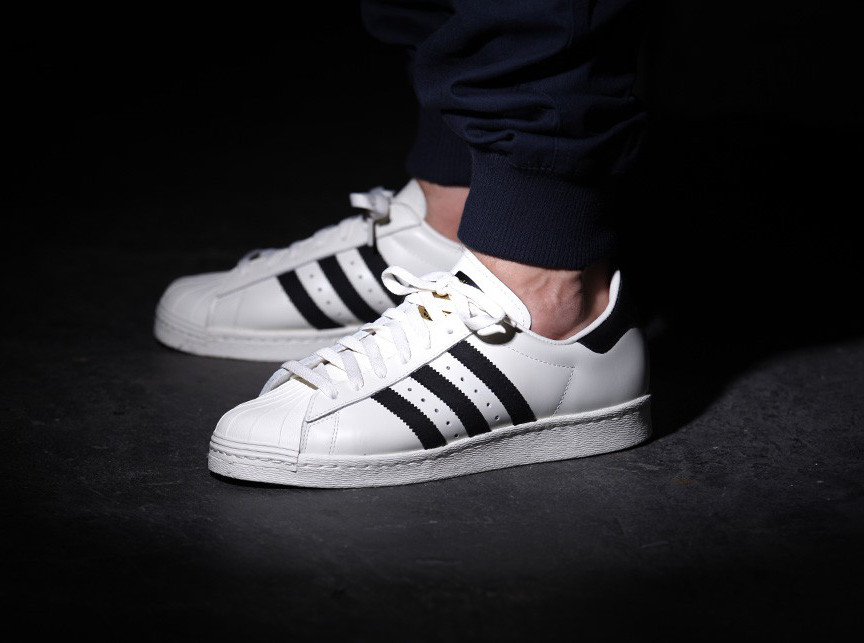 adidas original superstar 80s dlx bordeaux