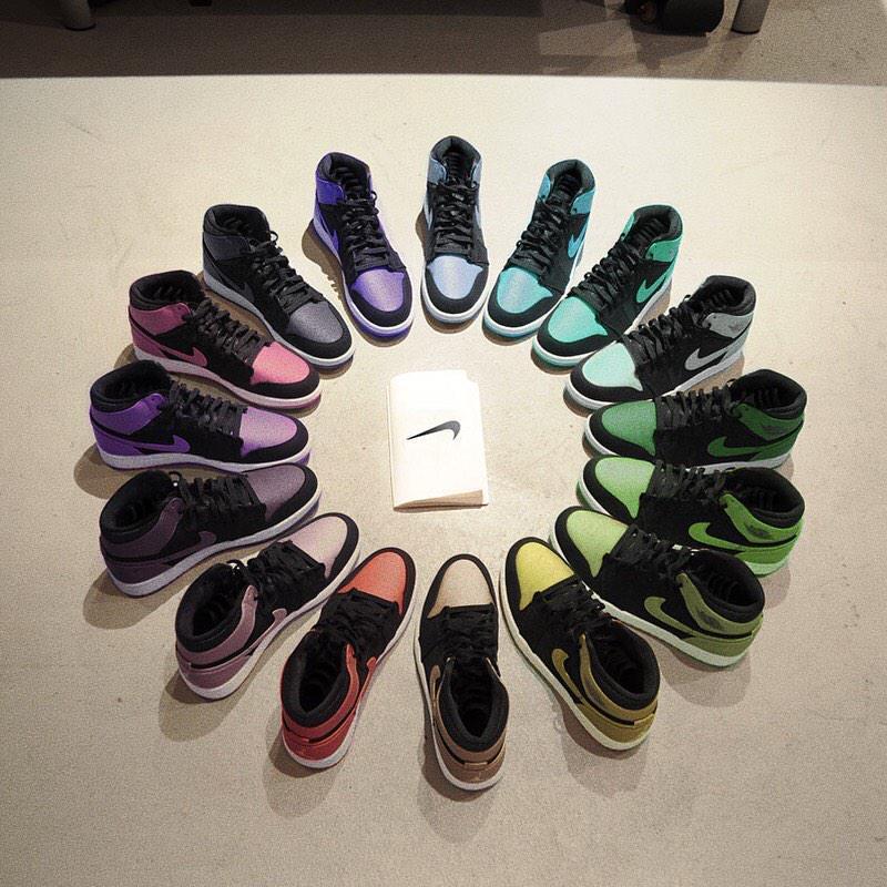 air-jordan-1-rainbow-colors-pack