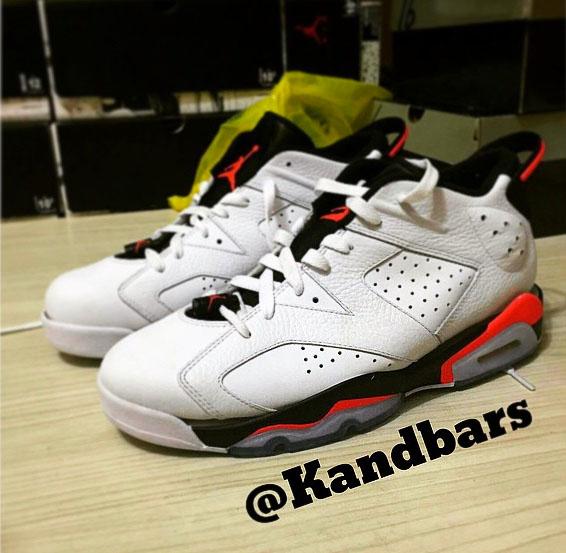 air jordan 6 infrared white