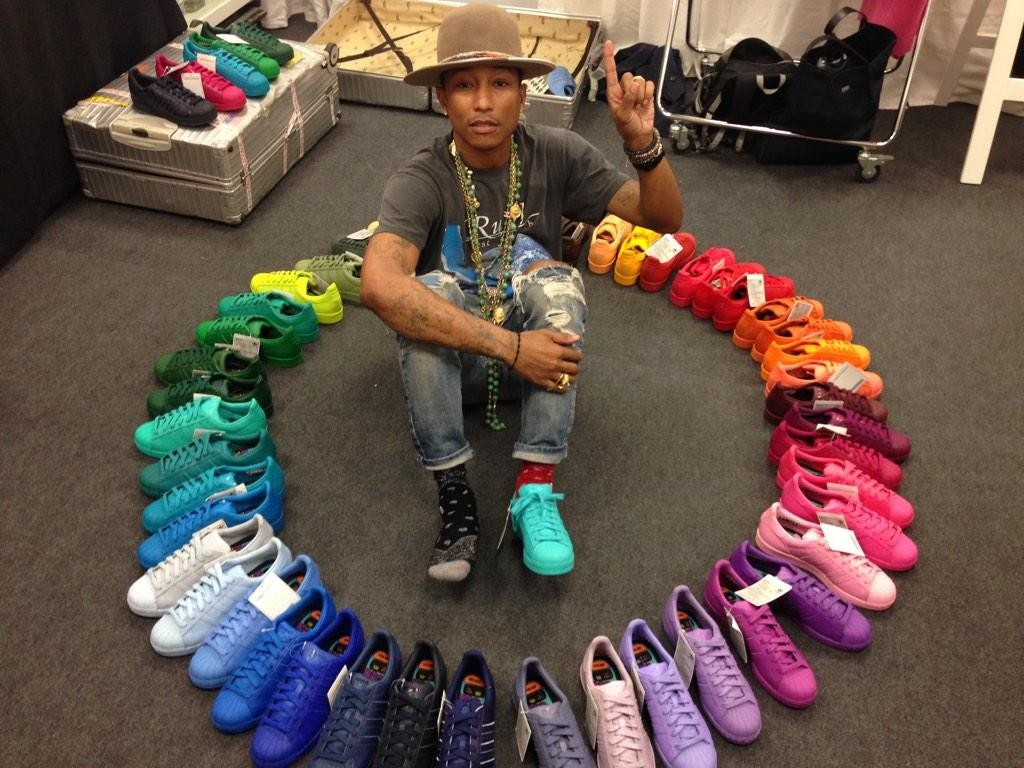 pharrell williams x adidas originals superstar rainbow collection preview le site de la sneaker. Black Bedroom Furniture Sets. Home Design Ideas