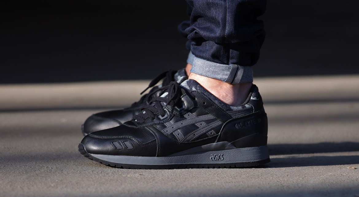 asics gel lyte iii black camo date de sortie release date. Black Bedroom Furniture Sets. Home Design Ideas