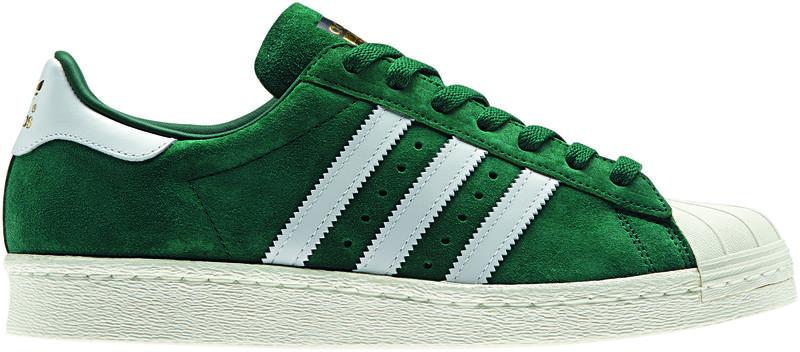 Adidas Superstar Suede Green