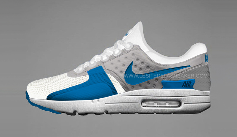 air max zero bleu