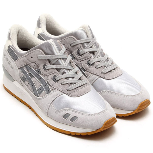 asics wmns gel silver gum pack le site de la sneaker. Black Bedroom Furniture Sets. Home Design Ideas