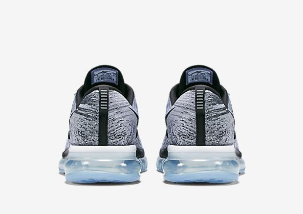 Nike Flyknit Air Max 2015 Oreo