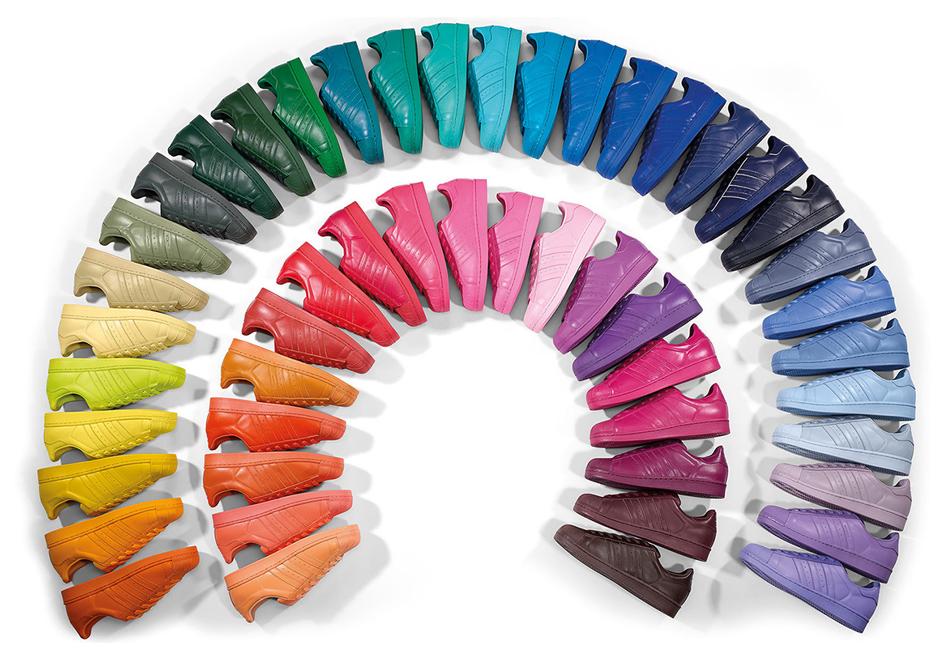 basket adidas superstar supercolor femme