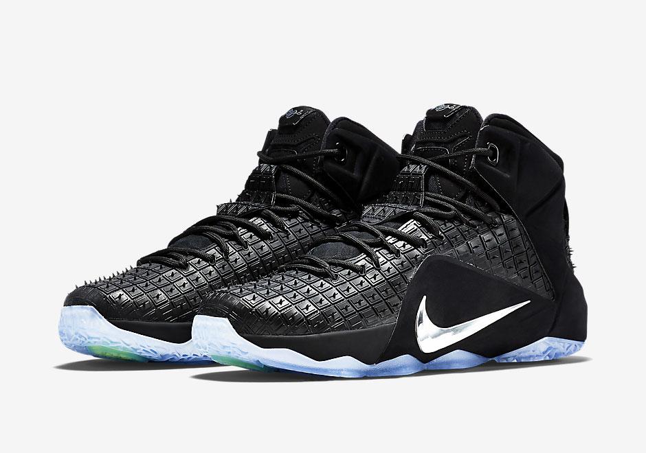 online retailer b7c84 42889 nike lebron 12 ext rubber city chaussure de basketball zoom lebron soldier  ...