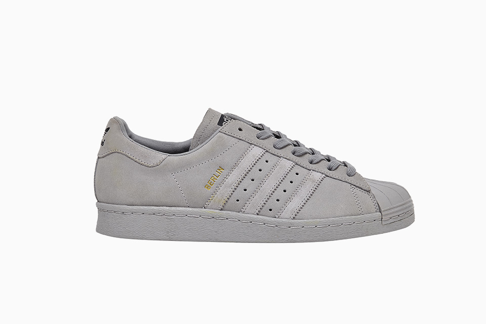 adidas superstar 80s grise