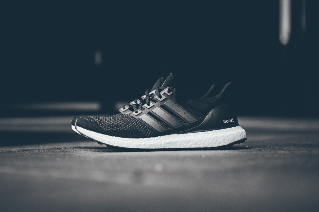Adidas Boost Black Black White