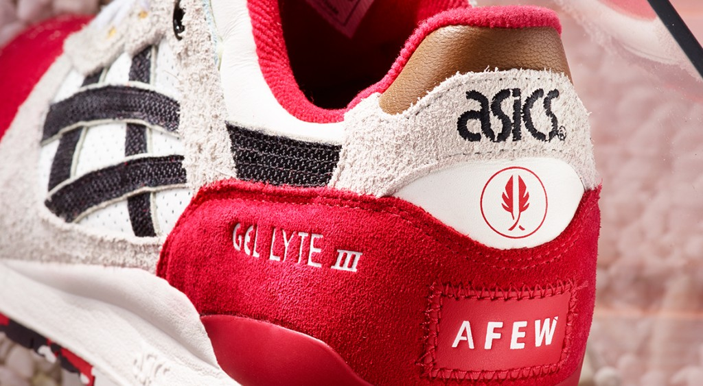 a few x asics gel lyte iii koi official pictures