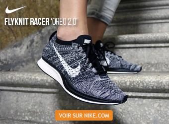 Nike Flyknit Racer Oreo 2