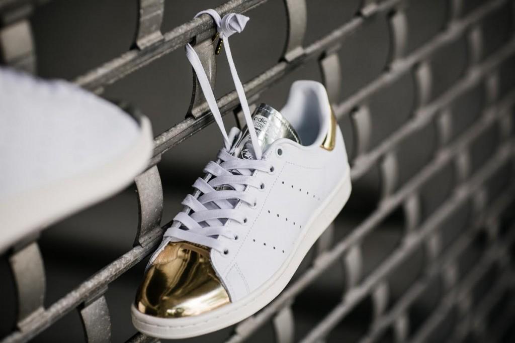 Stan Smith Gold Metallic