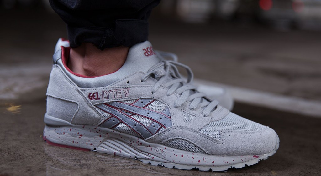 asics gel lyte v night shade light grey date de sortie release date. Black Bedroom Furniture Sets. Home Design Ideas