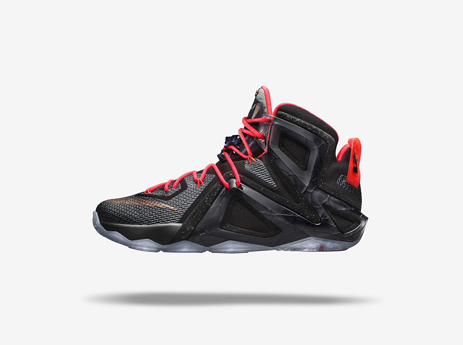 nike lebron 12 elite black