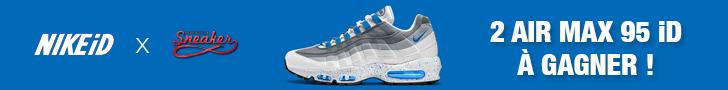 2 Nike Air Max 95 iD à gagner