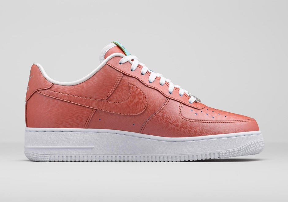 sale retailer 79540 7409d nike air force one rose