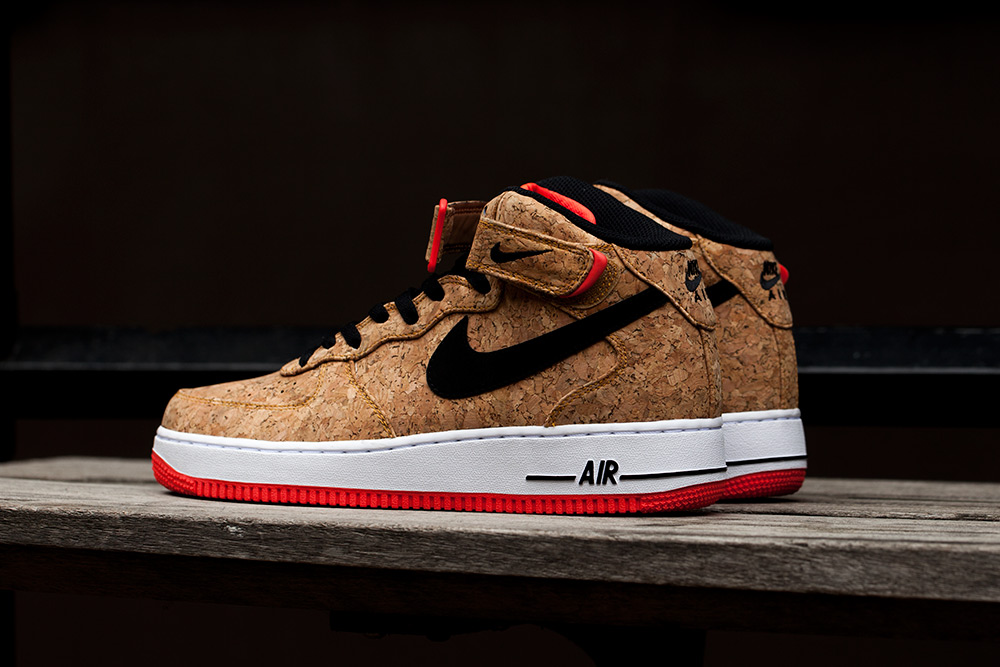 nike cork,Nike Air Force One Mid Cork