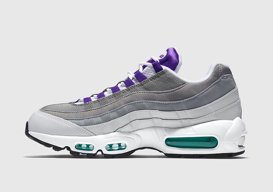 la nike air max 95 og grape de retour cet t le site de la sneaker. Black Bedroom Furniture Sets. Home Design Ideas