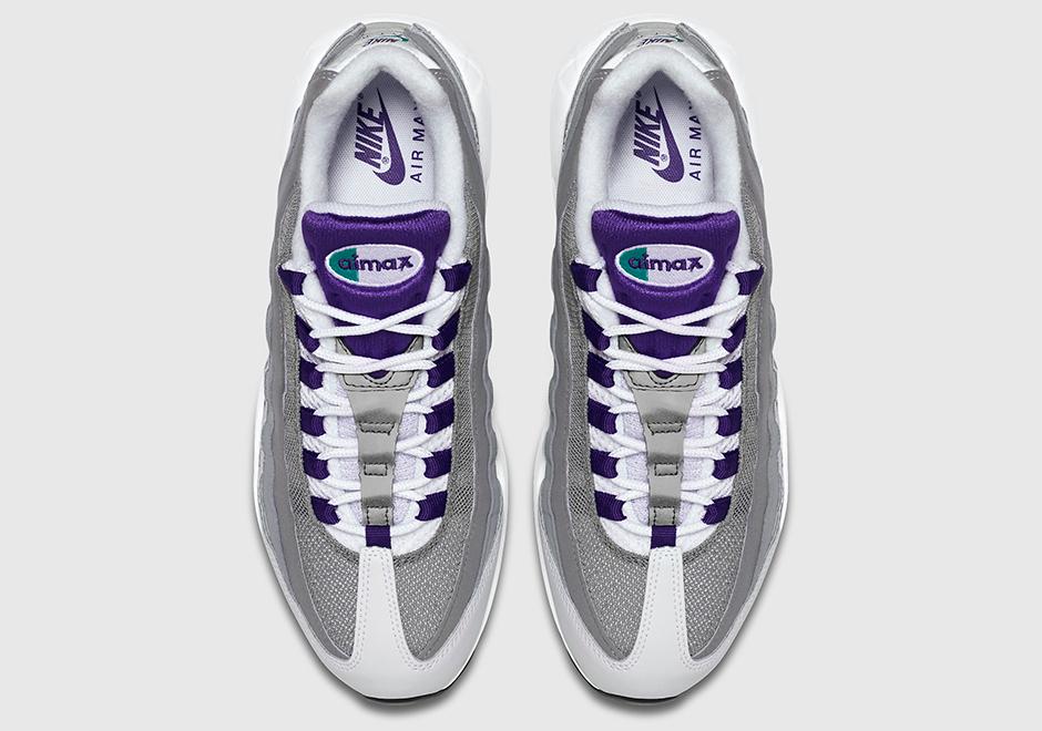 "panier nike air max homme - Nike Air Max 95 OG ""Grape"" - Date de sortie - Release date"