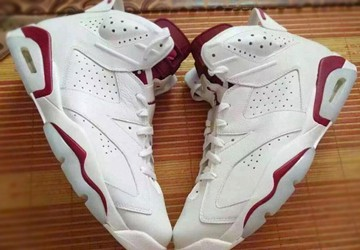 Air Jordan 6 Maroon 2016