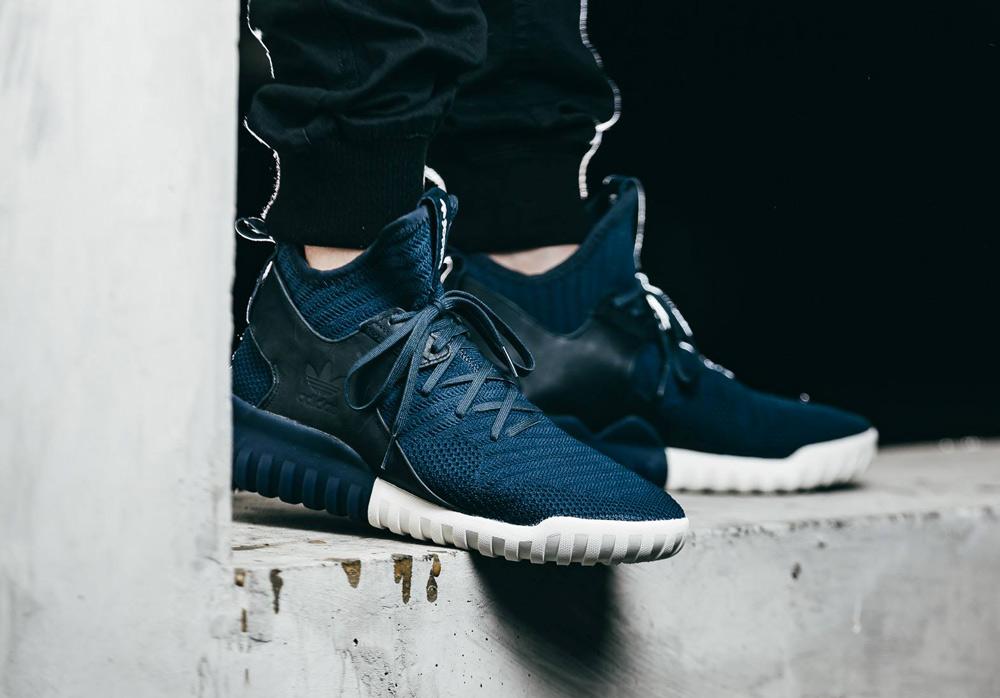 Men's Tubular X PrimeKnit Athletic Lifestyle Sneaker Shiekh Shoes