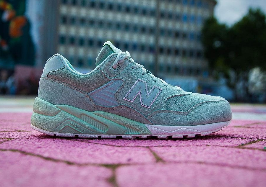 New Balance 580 Femme Mint