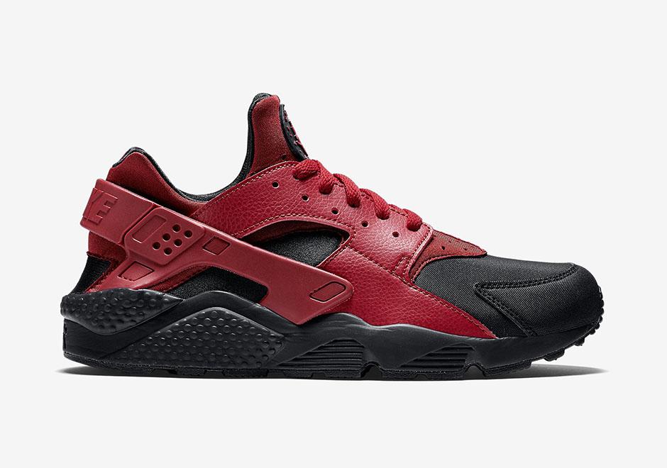 nike augmentation de la hauteur de shox - Nike Air Huarache PRM Black/Gym Red - Date de sortie - Release date