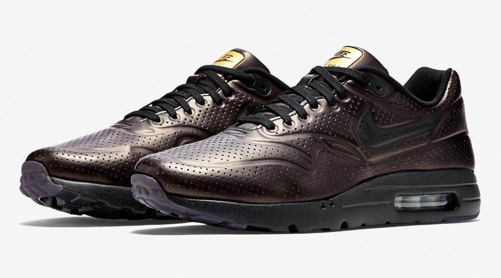 air max 1 black gold