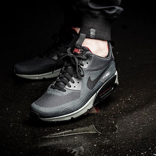 nike air max 90 mid winter print grey date de sortie release date. Black Bedroom Furniture Sets. Home Design Ideas