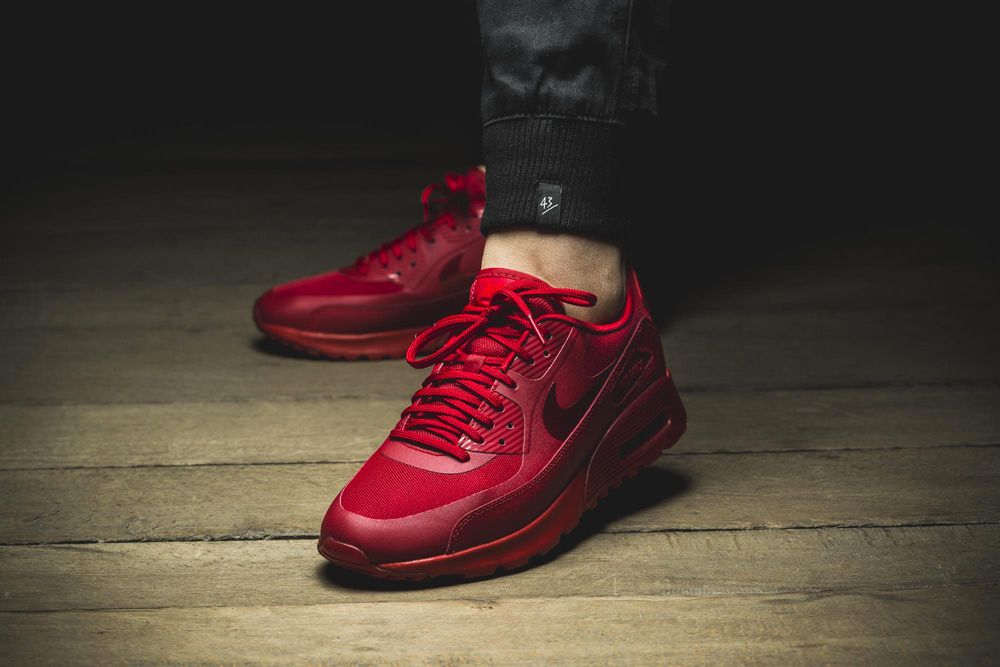 nike air max 90 ultra gym red