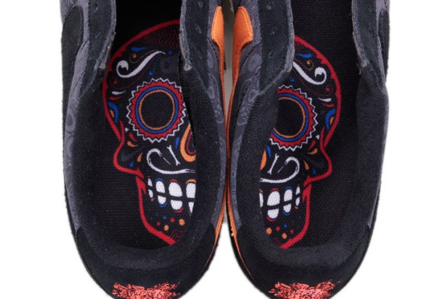 Day of the dead/Dia de los muertos - Save the Date - Black and Red