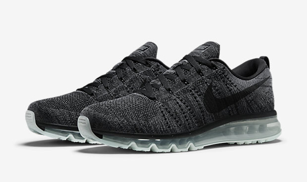 Nike Air Max 2015 Flyknit Black