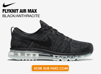 Nike Flyknit Air Max Black