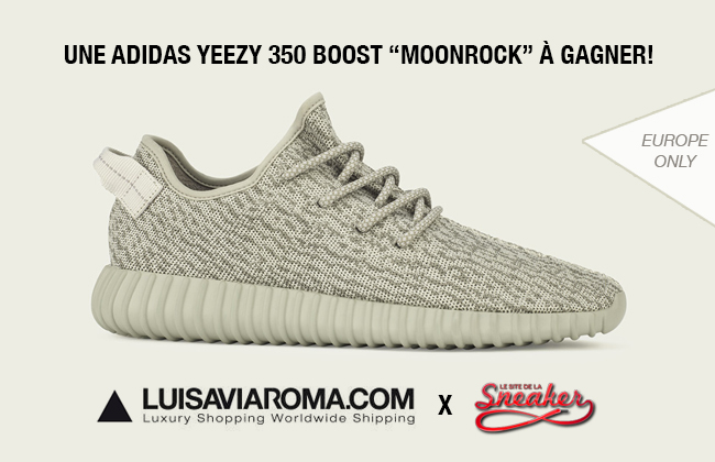 b58ccd0ca42 Concours  gagnez une adidas Yeezy 350 Boost Moonrock avec ...