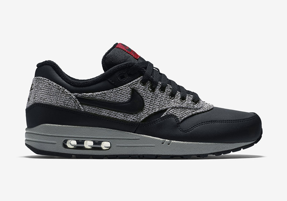air max 1 black grey