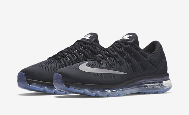 2016 Air Max Black And White