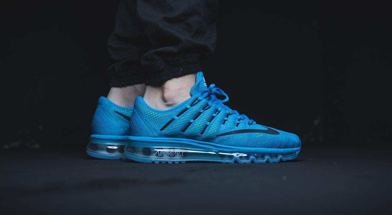 nike 2016 air max blue